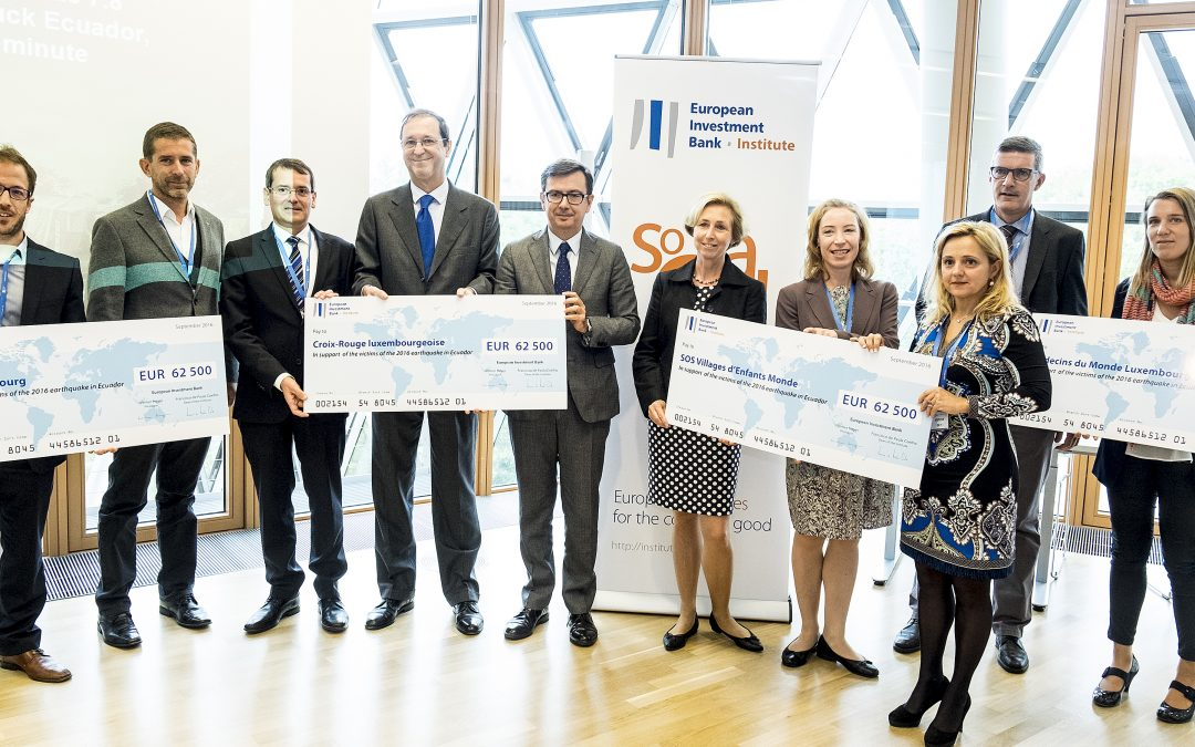 EIB Group Ecuador earthquake donation: the results