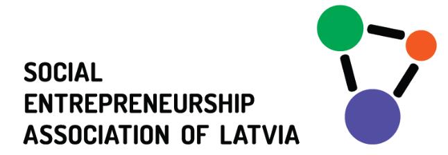 Logo Social entrepreneurship association Latvia