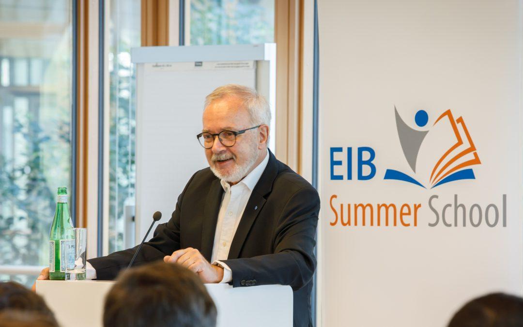 First EIB Summer School begins