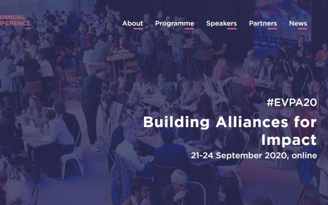 SIT Alumni showcased at EVPA conference 2020