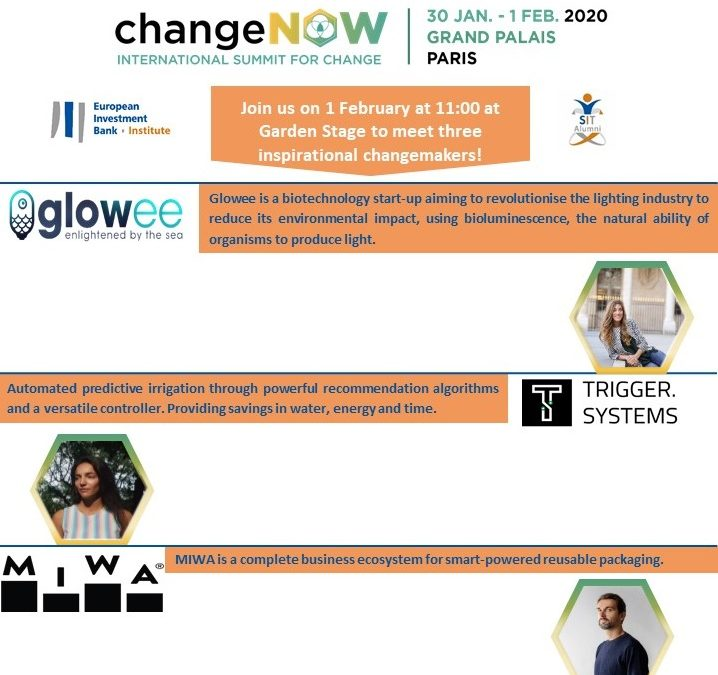 Solutions for the planet: EIB Group at ChangeNOW Paris