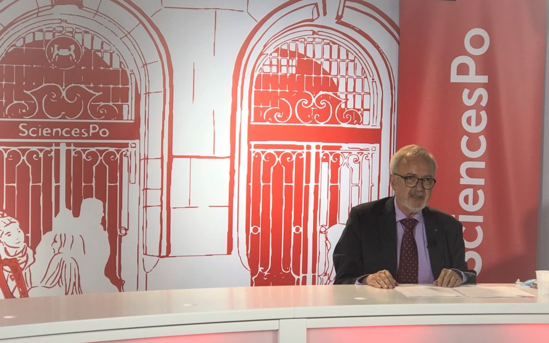 President Hoyer at Sciences-Po: A vibrant plea for Europe